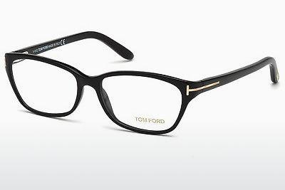 Brille Tom Ford FT5142 001 - Schwarz, Shiny