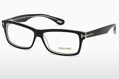 Brille Tom Ford FT5146 003 - Schwarz, Transparent