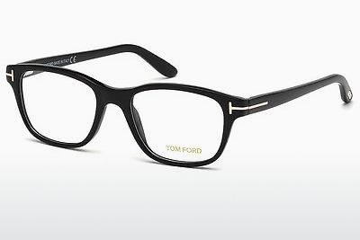 Brille Tom Ford FT5196 001 - Schwarz, Shiny