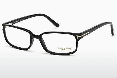 Brille Tom Ford FT5209 001 - Schwarz, Shiny