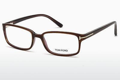 Brille Tom Ford FT5209 047 - Braun, Bright
