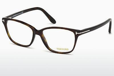 Brille Tom Ford FT5293 052 - Braun, Dark, Havana