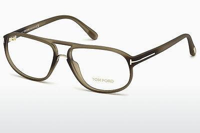 Brille Tom Ford FT5296 046 - Braun, Matt