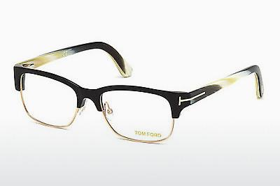 Brille Tom Ford FT5307 001 - Schwarz, Shiny