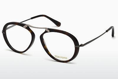 Brille Tom Ford FT5346 052 - Braun, Havana