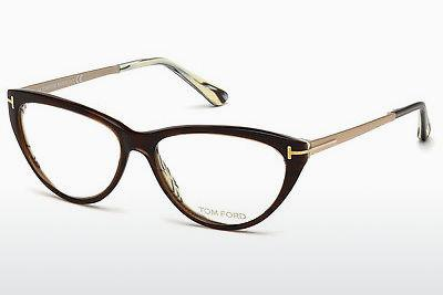 Brille Tom Ford FT5354 050 - Braun, Dark
