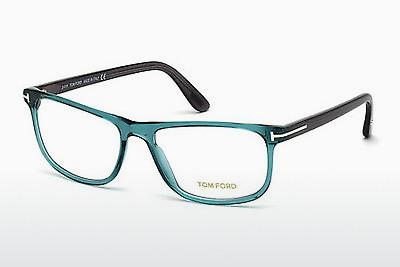 Brille Tom Ford FT5356 087 - Blau, Turquoise, Shiny