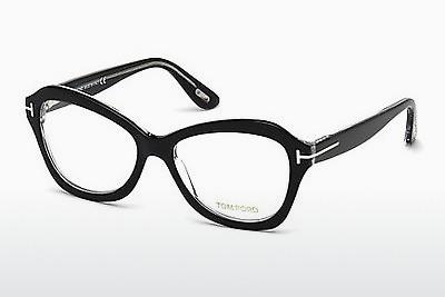 Brille Tom Ford FT5359 003 - Schwarz, Transparent