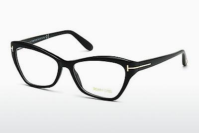 Brille Tom Ford FT5376 001 - Schwarz