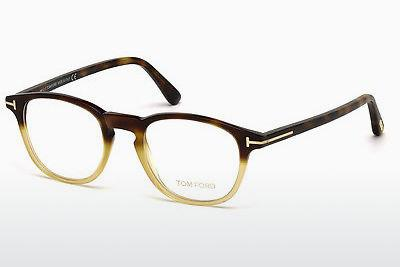 Brille Tom Ford FT5389 053 - Havanna, Yellow, Blond, Brown
