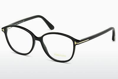 Brille Tom Ford FT5390 001 - Schwarz, Shiny