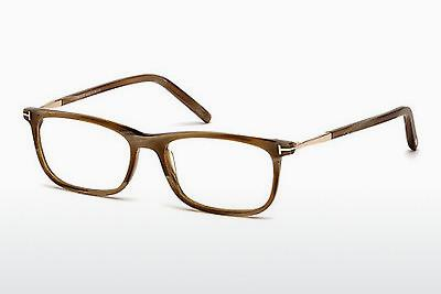 Brille Tom Ford FT5398 062 - Braun, Horn, Ivory