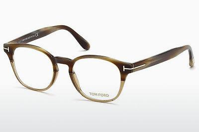 Brille Tom Ford FT5400 65A - Horn, Horn, Brown
