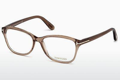 Brille Tom Ford FT5404 048 - Braun, Dark, Shiny