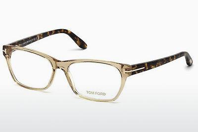 Brille Tom Ford FT5405 045 - Braun, Bright, Shiny