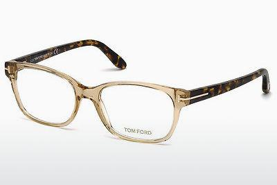 Brille Tom Ford FT5406 045 - Braun, Bright, Shiny