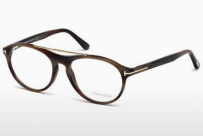 Brille Tom Ford FT5411 062 - Braun, Horn, Ivory