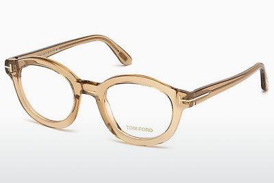 Brille Tom Ford FT5460 045 - Braun, Bright, Shiny