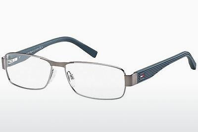 Brille Tommy Hilfiger TH 1163 V4V - Silber, Ruthenium