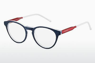 Brille Tommy Hilfiger TH 1393 QRE - Blau