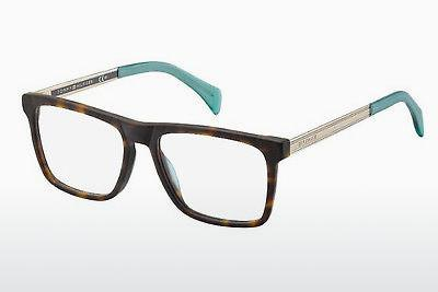 Brille Tommy Hilfiger TH 1436 SFV - Gold, Braun, Havanna
