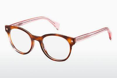 Brille Tommy Hilfiger TH 1438 LQ8 - Rosa, Braun, Havanna