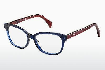 Brille Tommy Hilfiger TH 1439 L0J - Blau, Rot