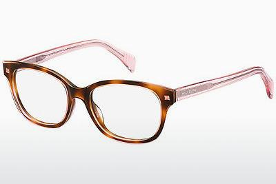 Brille Tommy Hilfiger TH 1439 LQ8 - Rosa, Braun, Havanna