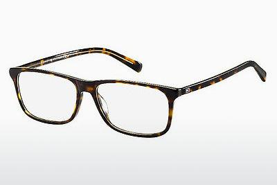 Brille Tommy Hilfiger TH 1452 A84 - Gelb, Braun, Havanna