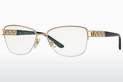 Brille Versace VE1220B 1002 - Gold