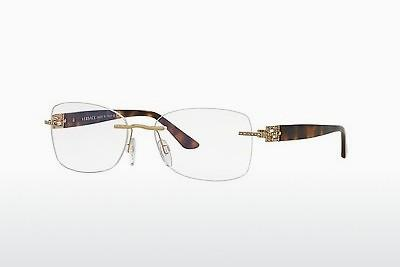 Brille Versace VE1225B 1355 - Gold