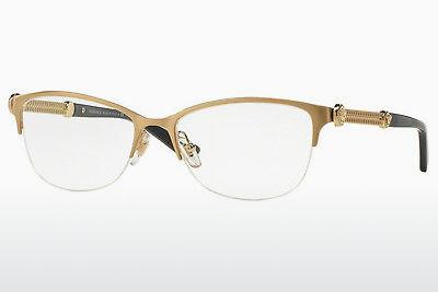 Brille Versace VE1228 1352 - Gold