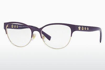 Brille Versace VE1237 1383 - Purpur, Gold