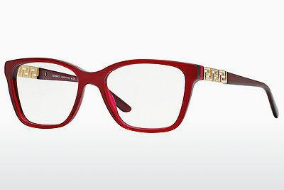 Brille Versace VE3192B 388 - Transparent, Rot