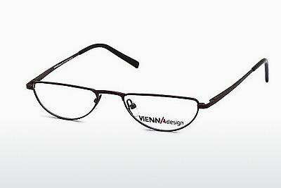 Brille Vienna Design UN387 03 - Rot, Bordeaux