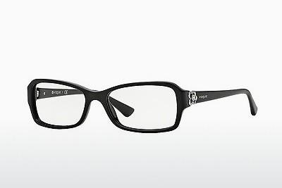 Brille Vogue VO2836B W44 - Schwarz