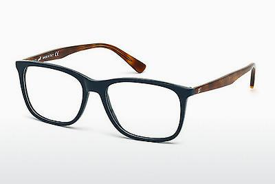 Brille Web Eyewear WE5180 091 - Blau, Matt