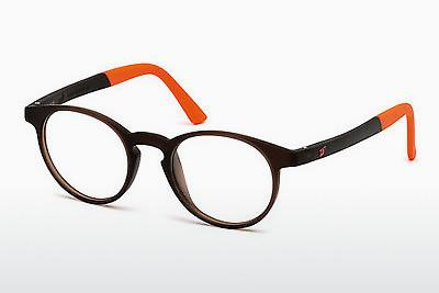 Brille Web Eyewear WE5186 049 - Braun, Dark, Matt