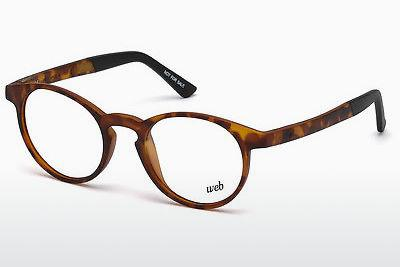 Brille Web Eyewear WE5186 053 - Braun, Havanna