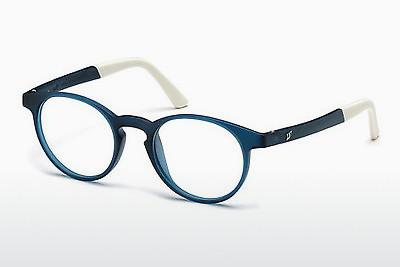 Brille Web Eyewear WE5186 091 - Blau, Matt