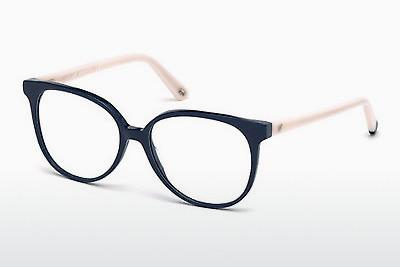 Brille Web Eyewear WE5199 090 - Blau, Shiny