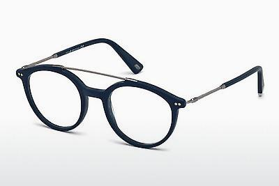 Brille Web Eyewear WE5204 091 - Blau, Matt