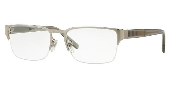 Burberry BE1297 1166 BRUSHED SILVER