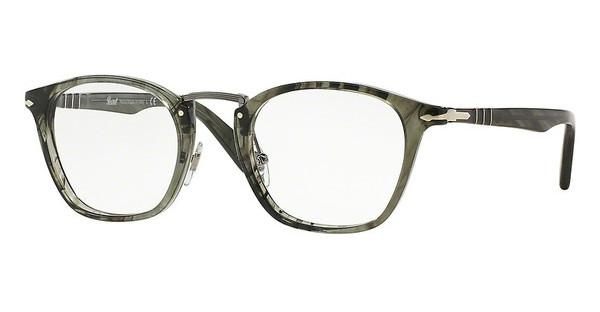 Persol PO3109V 1020 STRIPED GREY
