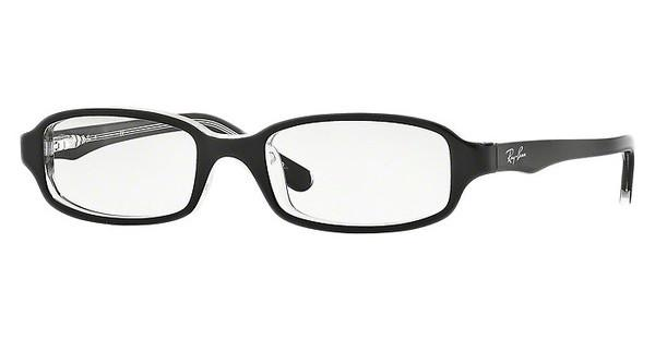Ray-Ban Junior RY1521 3529 TOP BLACK ON TRANSPARENT