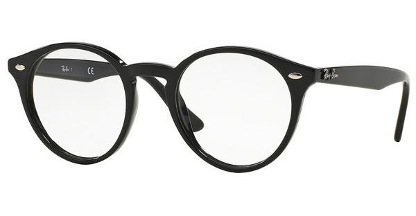 Ray-Ban RX2180V 2000 SHINY BLACK