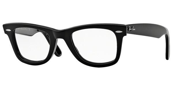 Ray-Ban RX5121 2000 SHINY BLACK