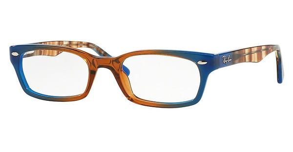 Ray-Ban RX5150 5488 GRADIENT BROWN ON BLUE