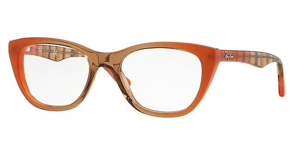 Ray-Ban RX5322 5487 GRADIENT BROWN ON ORANGE