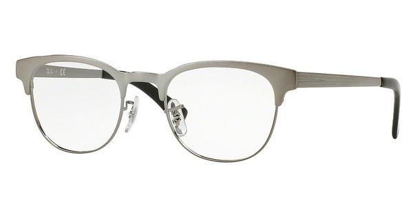 Ray-Ban RX6317 2553 GUNMETAL ON TOP BRUSHED GUNMET